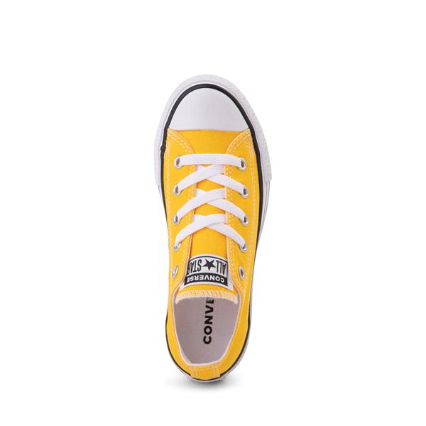 alternate view Converse Chuck Taylor All Star Lo Sneaker - Little Kid - Lemon ChromeALT2
