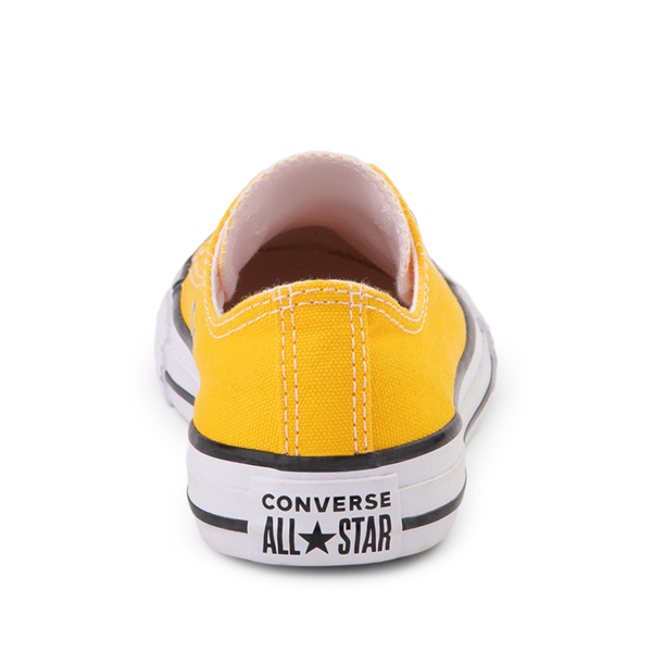alternate view Converse Chuck Taylor All Star Lo Sneaker - Little Kid - Lemon ChromeALT4