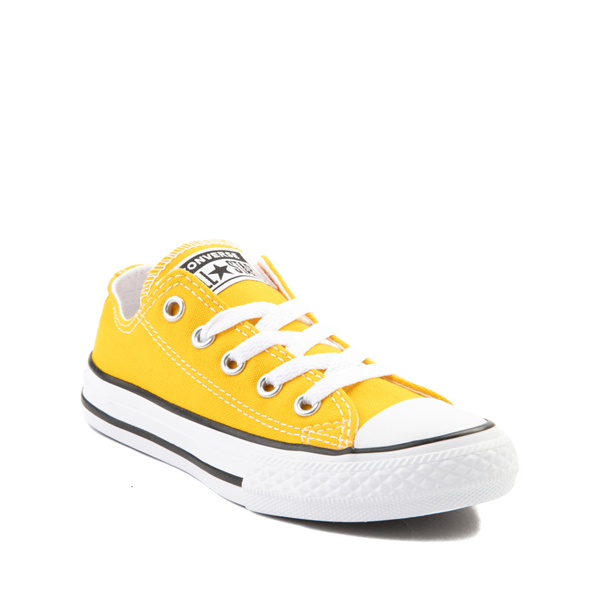 alternate view Converse Chuck Taylor All Star Lo Sneaker - Little Kid - Lemon ChromeALT5