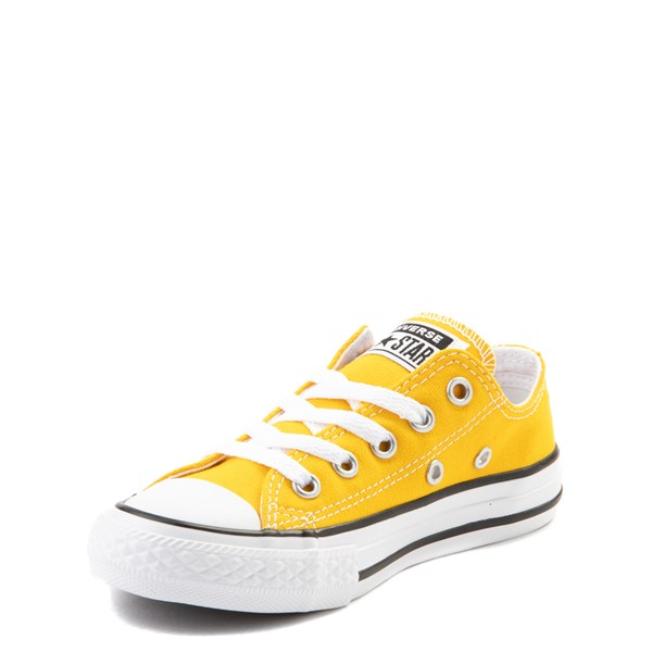 alternate view Converse Chuck Taylor All Star Lo Sneaker - Little Kid - LemonALT3