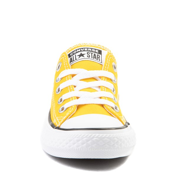 alternate view Converse Chuck Taylor All Star Lo Sneaker - Little Kid - LemonALT4