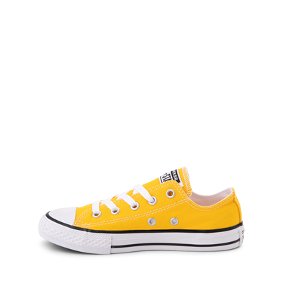 Alternate view of Converse Chuck Taylor All Star Lo Sneaker - Little Kid - Lemon Chrome
