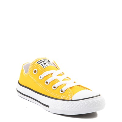 Alternate view of Converse Chuck Taylor All Star Lo Sneaker - Little Kid - Lemon