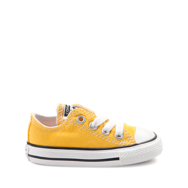 Main view of Converse Chuck Taylor All Star Lo Sneaker - Baby / Toddler - Lemon Chrome