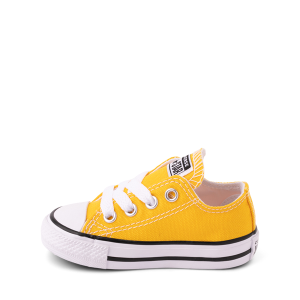 alternate view Converse Chuck Taylor All Star Lo Sneaker - Baby / Toddler - Lemon ChromeALT1