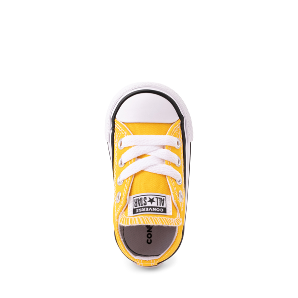 alternate view Converse Chuck Taylor All Star Lo Sneaker - Baby / Toddler - Lemon ChromeALT2