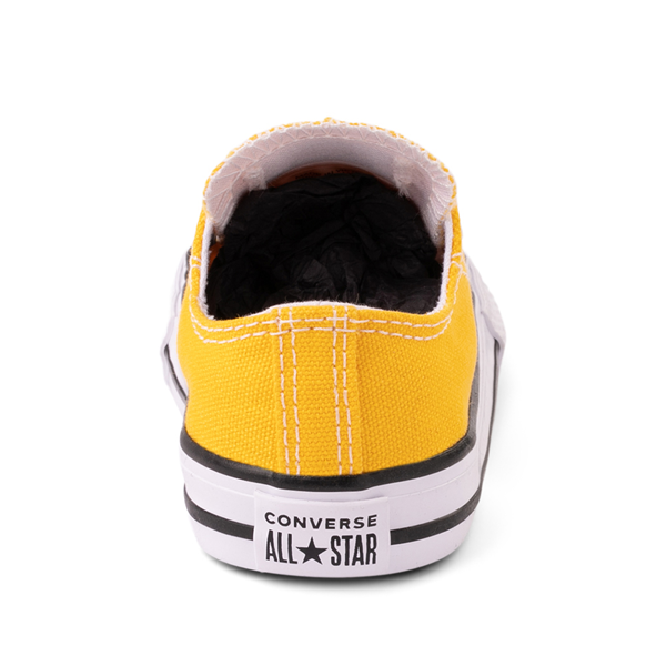 alternate view Converse Chuck Taylor All Star Lo Sneaker - Baby / Toddler - Lemon ChromeALT4