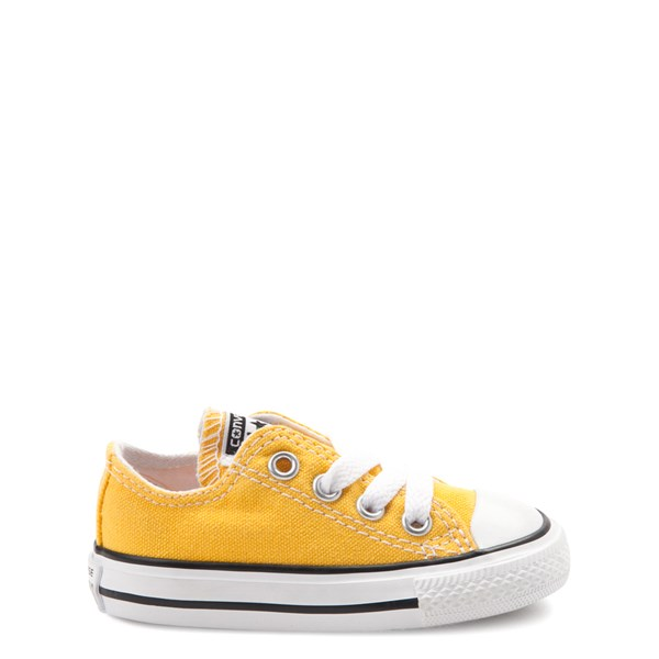Main view of Converse Chuck Taylor All Star Lo Sneaker - Baby / Toddler - Lemon