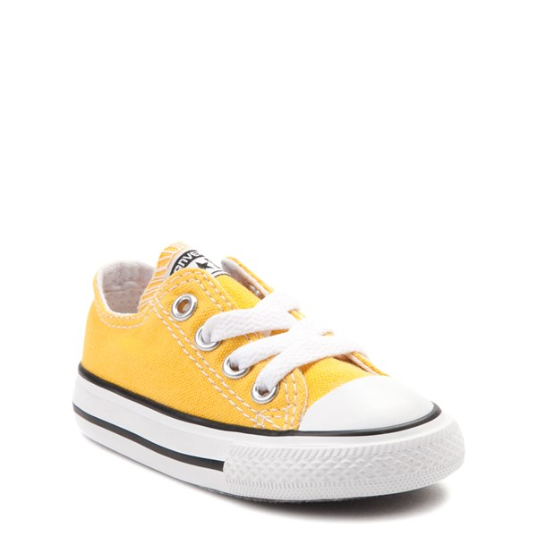 alternate view Converse Chuck Taylor All Star Lo Sneaker - Baby / Toddler - LemonALT1
