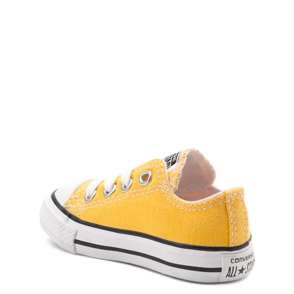 alternate view Converse Chuck Taylor All Star Lo Sneaker - Baby / Toddler - LemonALT2