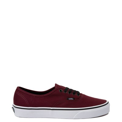 Main view of Vans Authentic Skate Shoe - Port Royale Red