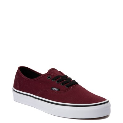Alternate view of Vans Authentic Skate Shoe - Port Royale Red