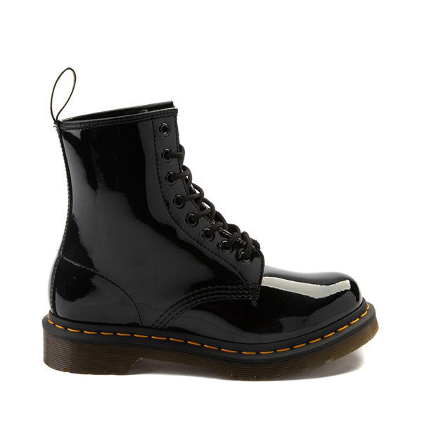 Main view of Womens Dr. Martens 1460 8-Eye Patent Boot - Black
