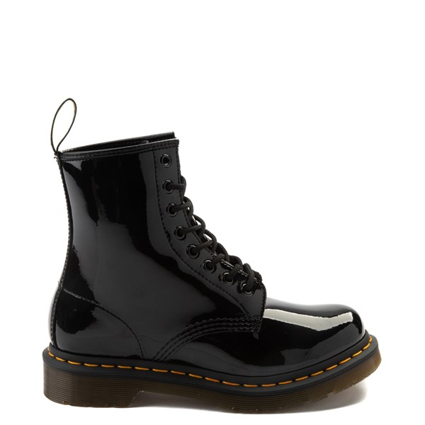Womens Dr. Martens 1460 8-Eye Patent Boot - Black