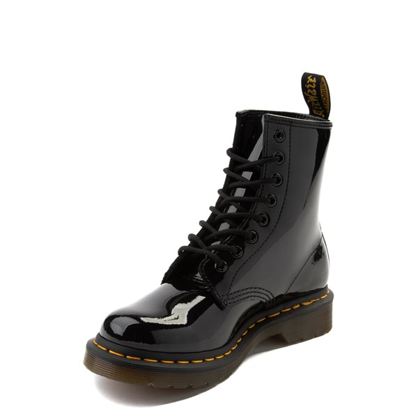 alternate view Womens Dr. Martens 1460 8-Eye Patent Boot - BlackALT3