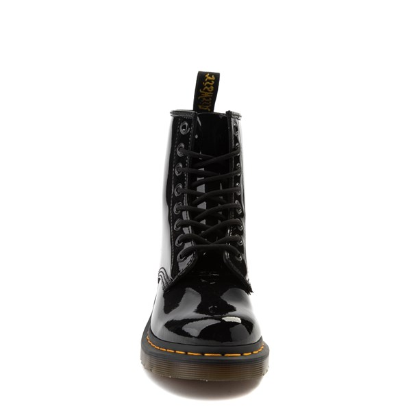 alternate view Womens Dr. Martens 1460 8-Eye Patent Boot - BlackALT4