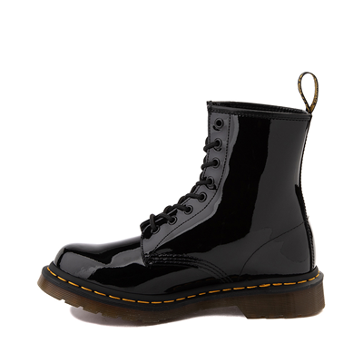 Alternate view of Womens Dr. Martens 1460 8-Eye Patent Boot - Black