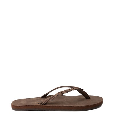 Main view of Womens Rainbow Flirty Braidy Sandal - Brown
