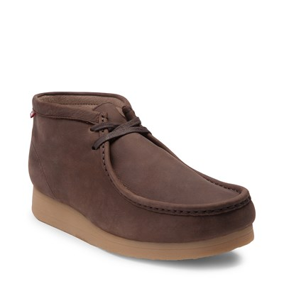 Alternate view of Mens Clarks Stinson Chukka Boot - Brown