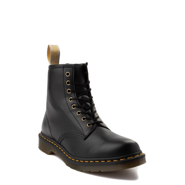 alternate view Dr. Martens 1460 8-Eye Vegan Boot - BlackALT1