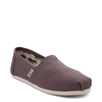 Alternate view of Womens TOMS Classic Slip On Casual Shoe - Gray