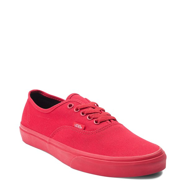 alternate view Vans Authentic Skate Shoe - Red MonochromeALT1