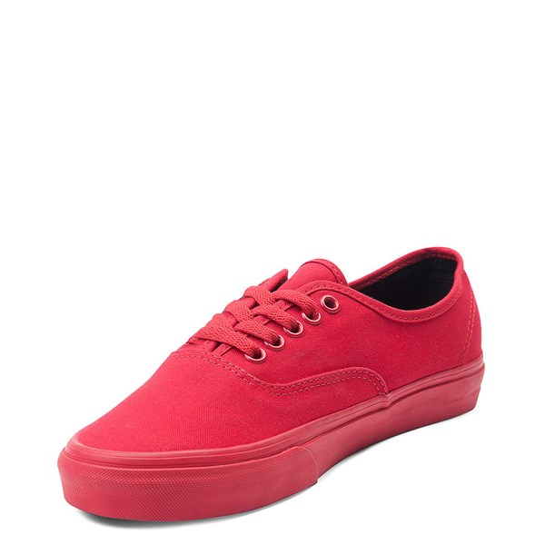 alternate view Vans Authentic Skate Shoe - Red MonochromeALT3