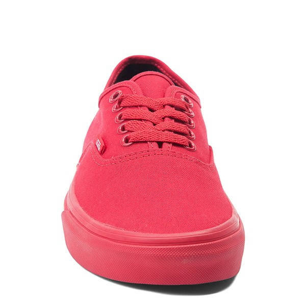 alternate view Vans Authentic Skate Shoe - Red MonochromeALT4