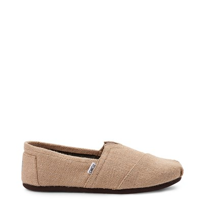 Main view of Mens TOMS Classic Burlap Casual Shoe