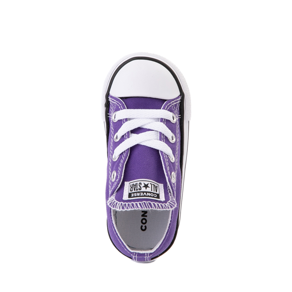 alternate view Converse Chuck Taylor All Star Lo Sneaker - Baby / Toddler - PurpleALT2