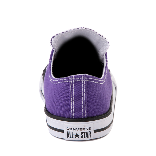 alternate view Converse Chuck Taylor All Star Lo Sneaker - Baby / Toddler - PurpleALT4