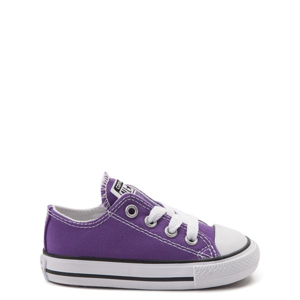 Main view of Converse Chuck Taylor All Star Lo Sneaker - Baby / Toddler - Purple