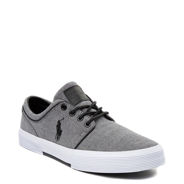 alternate view Mens Faxon Casual Shoe by Polo Ralph Lauren - GrayALT1