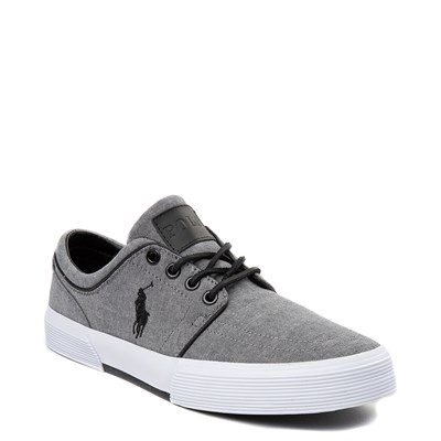 Alternate view of Mens Faxon Casual Shoe by Polo Ralph Lauren - Gray