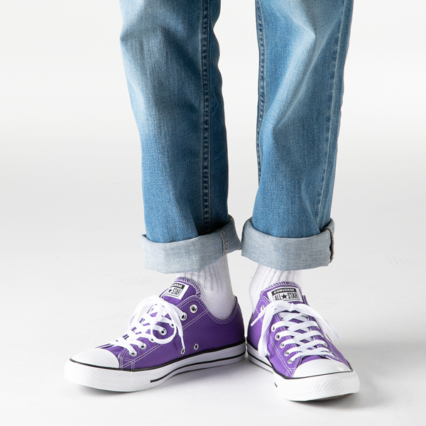 alternate view Converse Chuck Taylor All Star Lo Sneaker - PurpleB-LIFESTYLE1