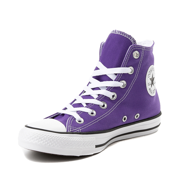 alternate view Converse Chuck Taylor All Star Hi Sneaker - Electric PurpleALT2