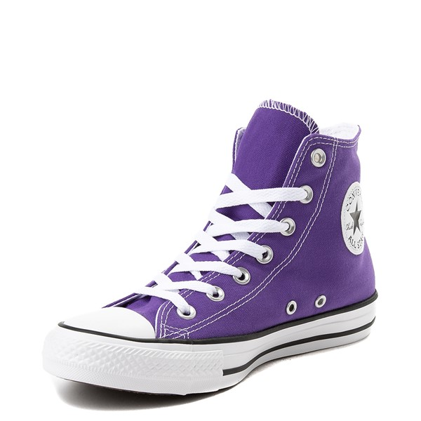 alternate view Converse Chuck Taylor All Star Hi Sneaker - Electric PurpleALT3-Edit