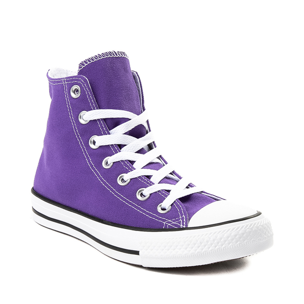 alternate view Converse Chuck Taylor All Star Hi Sneaker - Electric PurpleALT5