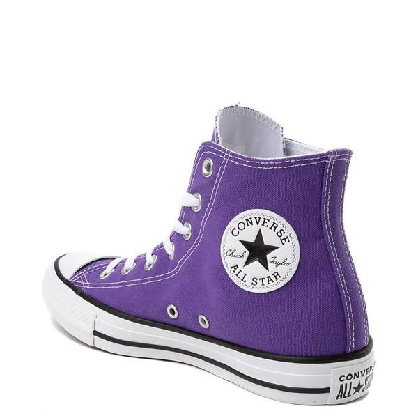 alternate view Converse Chuck Taylor All Star Hi Sneaker - PurpleALT2