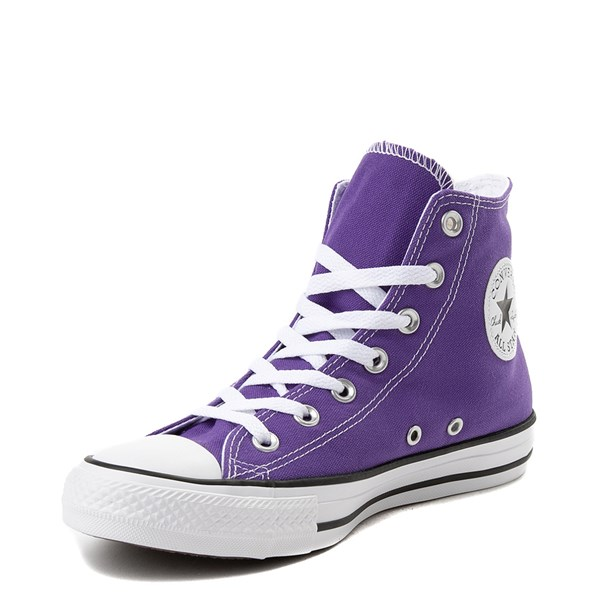 alternate view Converse Chuck Taylor All Star Hi Sneaker - PurpleALT3