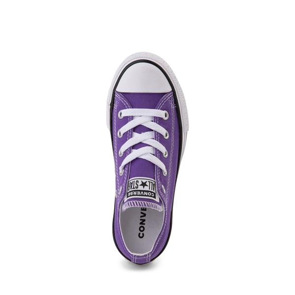 alternate view Converse Chuck Taylor All Star Lo Sneaker - Little Kid - PurpleALT2
