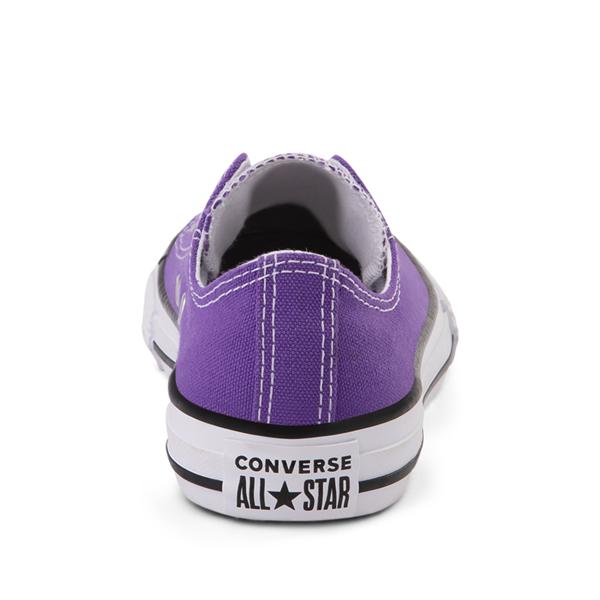 alternate view Converse Chuck Taylor All Star Lo Sneaker - Little Kid - PurpleALT4