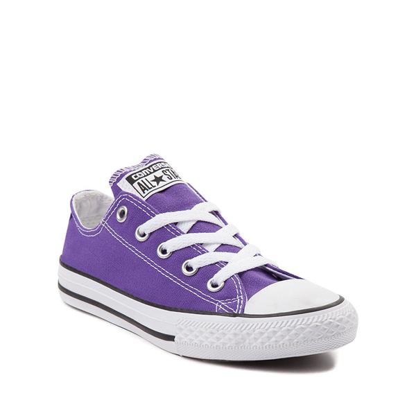 alternate view Converse Chuck Taylor All Star Lo Sneaker - Little Kid - PurpleALT5