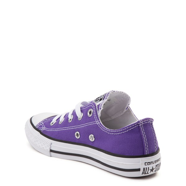 alternate view Converse Chuck Taylor All Star Lo Sneaker - Little Kid - PurpleALT2