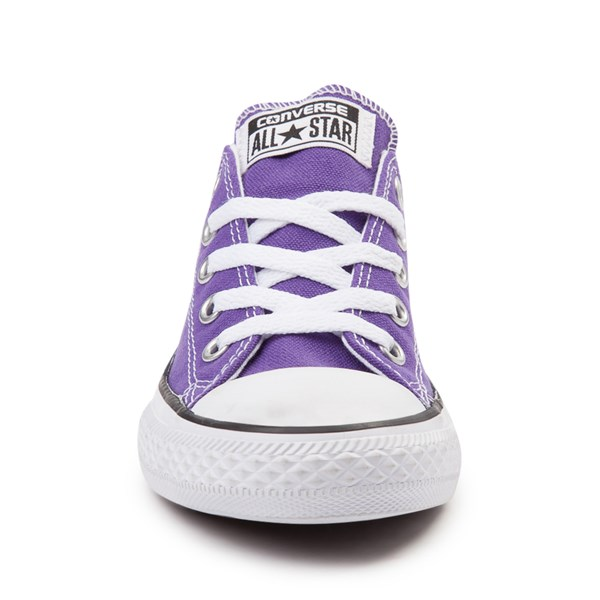 alternate view Converse Chuck Taylor All Star Lo Sneaker - Little Kid - PurpleALT4