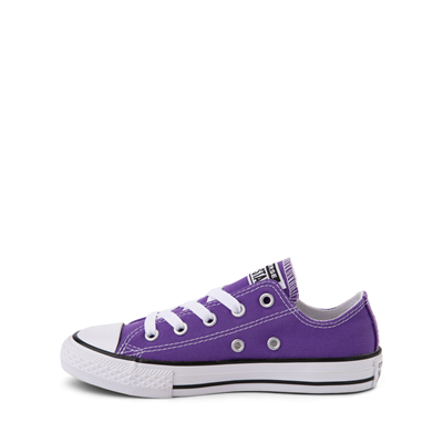 Alternate view of Converse Chuck Taylor All Star Lo Sneaker - Little Kid - Purple