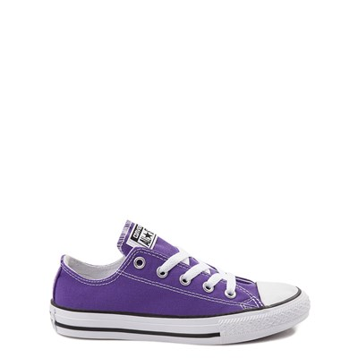 Main view of Youth Purple Converse Chuck Taylor All Star Lo Sneaker