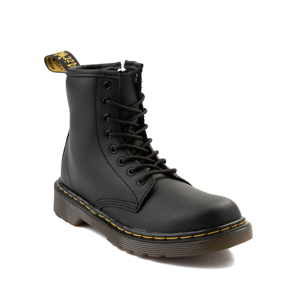 alternate view Dr. Martens 1460 8-Eye Boot - Little Kid / Big Kid - BlackALT5