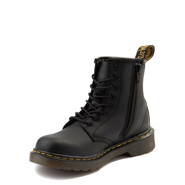 alternate view Dr. Martens 1460 8-Eye Boot - Little Kid / Big Kid - BlackALT3
