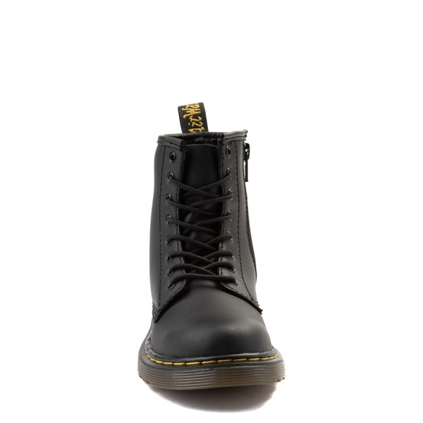 alternate view Dr. Martens 1460 8-Eye Boot - Little Kid / Big Kid - BlackALT4